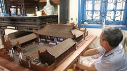 """Mô hình đình làng hơn 300 năm siêu nhỏ, chất và """"ngầu"""" của nghệ nhân Hà Nội"""