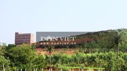 """Ảnh - Clip: Mục sở thị công trình hoành tráng ngang nhiên """"mọc"""" trái phép trên đất rừng ở Bình Định"""