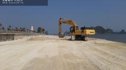 Quảng Ninh: Kỷ luật cán bộ liên quan vụ việc Công ty Phương Đông đổ đất lấn chiếm bãi triều ở Vân Đồn