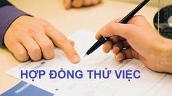 Ký hợp đồng thử việc có phải đóng BHXH không?