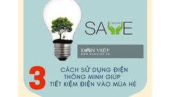 3 mẹo sử dụng điện thông minh giúp tiết kiệm vào mùa hè
