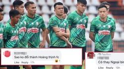 """CLB TP.HCM đổi tên, CĐV đề xuất ý tưởng... """"Hoàng Thịnh FC"""""""