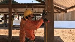 Tái định cư Dự án hồ chứa nước Krông Pắk Thượng: Nhà vừa dựng lên đã có điện
