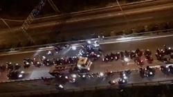 """Khởi tố  vụ """"quái xế"""" chặn cao tốc làm đường đua: Cần hình thức xử lý nghiêm khắc"""