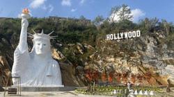 """Yêu cầu dừng thi công tượng """"Nữ thần tự do"""" gây tranh cãi ở Sa Pa"""