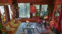 Ngất ngây với ngôi nhà trên núi đáng mơ ước, tinh tế đến từng chi tiết
