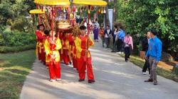 Lâm Đồng: Hàng ngàn người tham gia lễ Giỗ Tổ Hùng Vương trên núi Phượng Hoàng