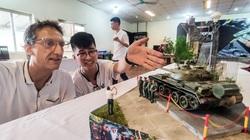 Ảnh: Những khí tài quân sự được tái hiện, mang theo bao ký ức hào hùng ở Hà Nội
