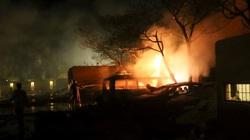 Ô tô chứa bom phát nổ tại một khách sạn phía Tây Pakistan, nhiều người thương vong