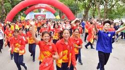 2.500 VĐV truyền cảm hứng Ngày chạy Olympic vì sức khỏe toàn dân