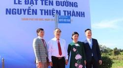 Thân phụ nguyên Bí thư TP.HCM được đặt tên đường ở khu đô thị mới Thủ Thiêm