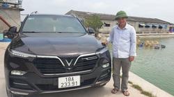 Nam Định: Sau một năm nuôi lợn trúng đậm, có một ông nông dân bỏ tiền tỷ mua ô tô Vinfast Lux SA