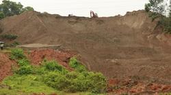 Yên Bái: Sạt đập hồ chứa thải, 3000m3 đất, cát tràn xuống ruộng