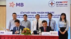PC Đắk Lắk ký kết hợp tác với Ngân hàng TMCP Quân đội