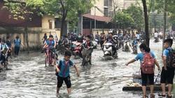 Bắc Ninh: Bị cấm xả thải ra sông Ngũ Huyện Khê, làng giấy Phong Khê xả thẳng vào... trường học