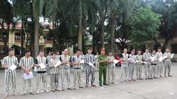 Vĩnh Phúc: 15 phạm nhân được xem xét giảm án, tha tù trước hạn