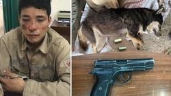 Nghi phạm trộm chó dùng súng bắn công an khi bị truy đuổi