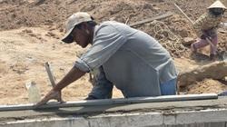 Khu tái định cư sân bay Long Thành: Công nhân thi công dồn dập xuyên dịp nghỉ lễ 30/4 - 1/5