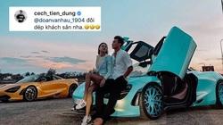 """Khoe ngồi siêu xe 24 tỷ cùng mỹ nhân, Bùi Tiến Dũng khiến Đoàn Văn Hậu """"bẽ mặt"""""""