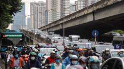 """Đô thị """"ngột thở"""": 1km đường""""cõng"""" gần 40 nghìn cư dân, giao thông """"khóc thét""""(bài 2)"""