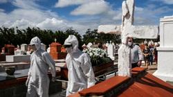 Lần đầu tiên Brazil ghi nhận hơn 4.000 người chết vì Covid-19 trong vòng 24 giờ