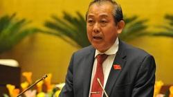 Một Phó Thủ tướng không tái cử Trung ương sẽ đảm nhiệm chức vụ đến hết nhiệm kỳ