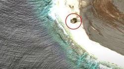 Sốc: Phát hiện UFO rơi trên một hòn đảo của Thái Bình Dương