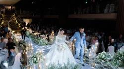 Quán quân Bolero Mỹ Ngọc đẹp lộng lẫy trong lễ cưới với chồng đại gia