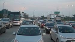 Giao thông ùn tắc từ trưa đến chiều tối tại cửa ngõ phía nam Hà Nội