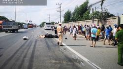 Ngã vào đầu xe khách, một thanh niên người Trung Quốc chết thảm trên quốc lộ 51