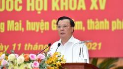 Bí thư Hà Nội Đinh Tiến Dũng cam kết 8 nội dung nếu được bầu làm ĐBQH khóa XV
