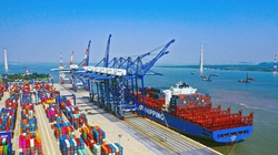 Dự án bến container cảng Lạch Huyện vướng mắc gì phải lùi sang 2022 khởi công?