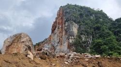 Thái Nguyên: Sạt lở mỏ đá Lân Đăm 3, di dời khẩn cấp 4 hộ dân trong đêm