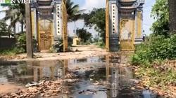 Bắc Ninh: Bị cấm xả thải ra sông, doanh nghiệp giấy Phú Lâm xả thẳng nước thải vào... đình làng