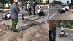 """Kỷ luật Đại úy công an """"chỉ đứng bấm điện thoại"""" ngay hiện trường vụ cướp taxi ở Hà Nội"""