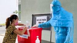 Cử tri ở khu cách ly Bình Dương hoàn tất công tác bầu cử