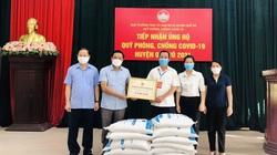 Hội Nông dân Bắc Ninh tặng 21 tấn gạo cho nông dân vùng dịch