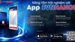 EVNHANOI ra mắt app di động dành cho khách hàng sử dụng điện