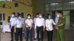 Chủ tịch UBND TP Hà Nội Chu Ngọc Anh đi kiểm tra bệnh viện dã chiến 300 giường F1 ở Mê Linh