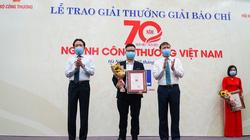 Báo Dân Việt đạt giải B Giải báo chí 70 năm ngành Công Thương