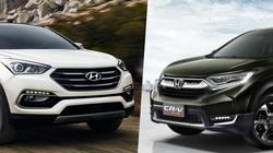 Vì sao người Việt đắn đo giữa Honda CR-V và Hyundai SantaFe?