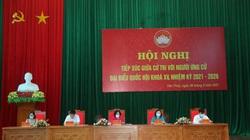 Ủy viên Bộ chính trị Trương Thị Mai tiếp xúc cử tri, vận động bầu cử tại huyện Yên Thủy