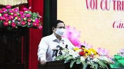 Thủ tướng Phạm Minh Chính kêu gọi cử tri miền Tây chung sức, đồng lòng phòng chống dịch Covid-19