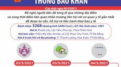 TT-Huế có ca bệnh Covid-19 thứ ba liên quan ổ dịch tại Đà Nẵng