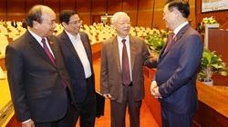 Danh sách 17 Ủy viên Bộ Chính trị trúng cử đại biểu Quốc hội khóa XV