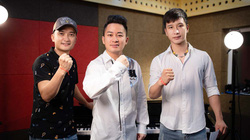 """Tùng Dương kết hợp Raper Ram C hát tri ân các """"chiến sĩ áo trắng"""""""