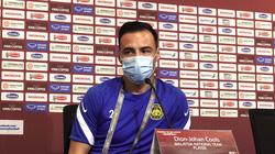 """Cầu thủ nhập tịch Malaysia thừa nhận: """"Việt Nam là một đội tuyển thật sự mạnh"""""""