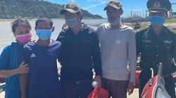 Vụ hai bè mảng trôi dạt trên biển: Cứu được ngư dân còn lại