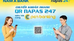 Nam A Bank - top ngân hàng Việt đầu tiên chuyển khoản nhanh NAPAS 247 bằng mã QR