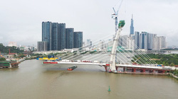TP.HCM: Dự kiến cầu Thủ Thiêm 2 sẽ hoàn thành vào quý II/2022